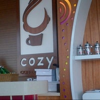 Photo taken at Cozy Coffee House  by Eman A. on 7/3/2012