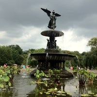 Photo taken at Bethesda Fountain by Ford G. on 9/2/2012