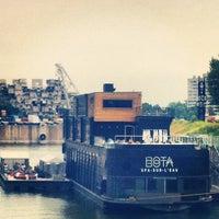 Photo taken at Bota Bota, spa-sur-l'eau by nneale on 7/17/2012