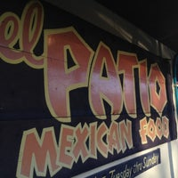 Photo taken at El Patio by Gretchen W. on 4/25/2012