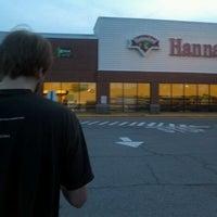 Photo taken at Hannaford Supermarket by Wade U. on 7/24/2012