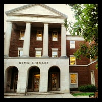 Photo taken at King Library by Micayla S. on 8/28/2012