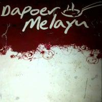 Photo taken at Dapoer Melayu by NPhitaloka on 9/9/2012
