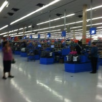 Photo taken at Walmart Supercenter by Lloyd R. on 7/30/2012