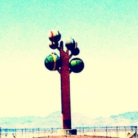 Photo taken at Metaphor: The Tree Of Utah by Pete P. on 5/28/2012