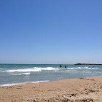 Photo taken at Plaja Neptun by Cristina T. on 6/16/2012