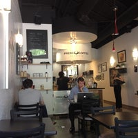 Photo taken at Press Coffee Roasters by Chris T. on 7/20/2012