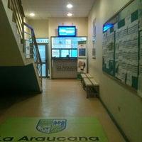 Photo taken at La Araucana Instituto Profesional by Rodrigo M. on 5/31/2012
