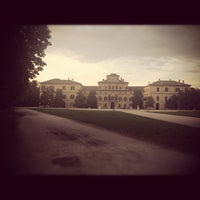 Photo taken at Parco Ducale Parma by Alessio C. on 4/17/2012