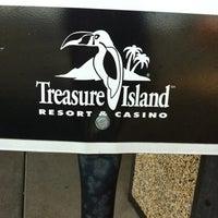 Photo taken at Treasure Island Resort & Casino by Kristen L. on 7/28/2012