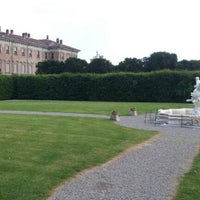 Photo taken at Villa Visconti Borromeo Litta by Marco P. on 5/26/2012