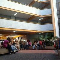 Photo taken at Pontifícia Universidade Católica de Goiás (PUC Goiás) by Guilherme V. on 3/9/2012