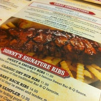 Photo taken at Sonny's BBQ by Corey M. on 6/28/2012