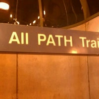 Photo taken at Grove Street PATH Station by Pablo M. on 6/8/2012