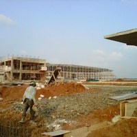 Photo taken at Hitachi Construction Machinery Indonesia - Cibitung 2 Factory by Mugi P. on 5/24/2012