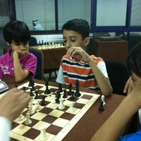 Photo taken at Bahrain Chess Academy by Mohamed T. on 8/12/2012