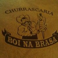 Photo taken at Boi na Brasa Churrascaria by Willie F. on 7/8/2012