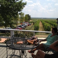 Photo taken at Mackinaw Valley Vineyard by Stan D. on 7/15/2012