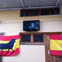 Photo taken at La Herreria Bar de Copas by Eduardo P. on 6/23/2012