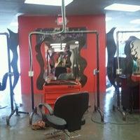 Photo taken at DYE Salon by Shannon E. on 7/18/2012