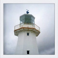 Photo taken at Pencarrow Lighthouse by Shelley G. on 2/3/2012