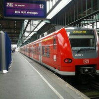 Photo taken at Stuttgart Hauptbahnhof by Nabil D. on 9/3/2012
