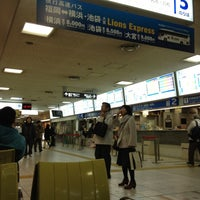 Photo taken at Nishitetsu Tenjin Expressway Bus Terminal by bluesman t. on 3/8/2012