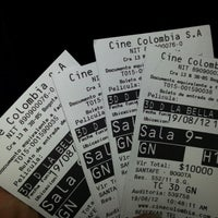 Photo taken at Cine Colombia by aSTRO1ooo on 8/19/2012