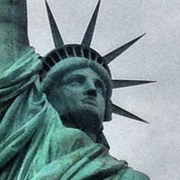 Photo taken at Liberty Island by Oliver D. on 8/16/2012