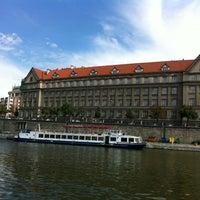 Photo taken at Hotel Praga 1 by Bruna M. on 7/30/2012