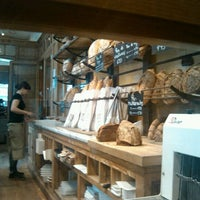 Photo taken at Le Pain Quotidien by Veronica B. on 4/19/2012