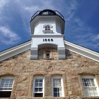 Photo taken at Sheffield Island Lighthouse by Lisa M. on 7/14/2012