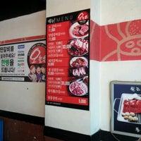 Photo taken at 오늘은 연탄갈비 by eun Kyung k. on 5/16/2012