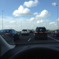 Photo taken at A9 (Hoofddorp-West) by Mara M. on 6/22/2012