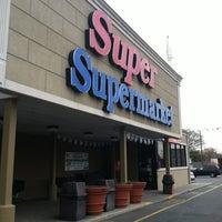 Photo taken at Super Supermarket by Alberto S. on 4/1/2012