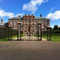 Photo taken at Kensington Palace by Chris N. on 7/12/2012
