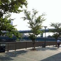 Photo taken at Tanimachi Line Temmabashi Station (T22) by Erin_green_0901 on 7/29/2012