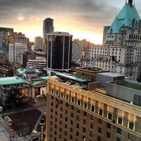 Photo taken at Four Seasons Hotel Vancouver by Rick B. on 3/4/2012