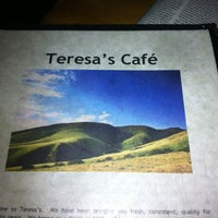 Photo taken at Teresa's Next Door by Amanda C. on 5/16/2012