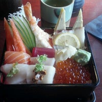 Photo taken at Mikado Ryotei by Michelle F. on 7/11/2012