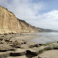 Photo prise au Torrey Pines State Beach par Justine D. le2/25/2012