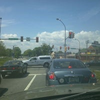 Photo taken at Roosevelt Boulevard & Adams Avenue by Miguel A. on 4/25/2012