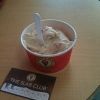 Photo taken at Marble Slab Creamery by Chris L. on 3/21/2012