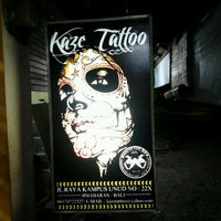 Photo taken at kazeTATTOO Bali by Fiqhi P. on 6/11/2012