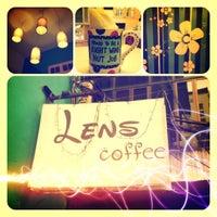 Photo taken at Lens Coffee by ✨KunKun✨ on 6/27/2012