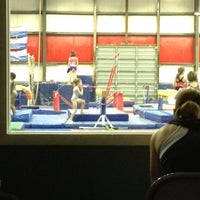 Photo taken at All Stars Gymnastics Academy by Mike E. on 4/26/2012