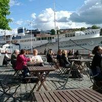 Photo taken at Café Riddarholmen by Adam V. on 6/6/2012