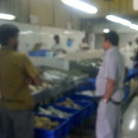 Photo taken at Fish Market Salwa by NJM A. on 2/29/2012