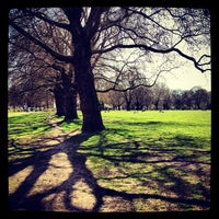 Photo taken at London Fields by Robert T. on 4/1/2012
