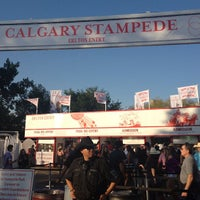 Photo taken at Stampede Park by Kevin M. on 7/8/2012